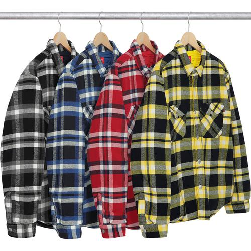 Quilted Arc Logo Flannel Shirt