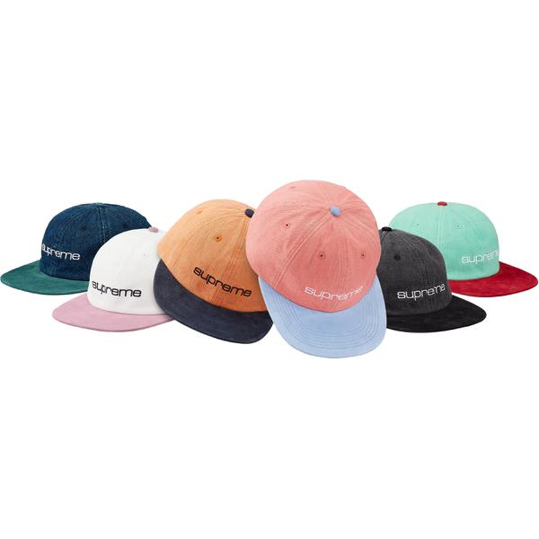 Denim Suede Compact Logo 6-Panel
