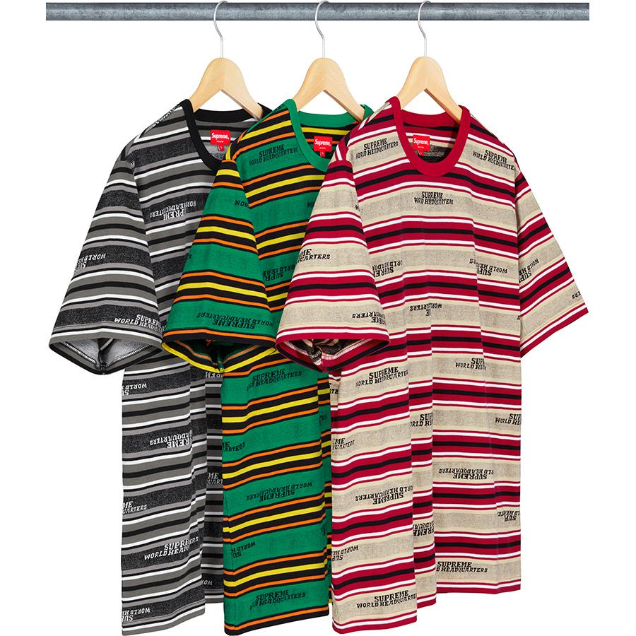 Supreme HQ Stripe S/S Top