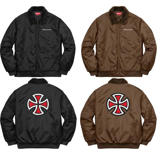 Supreme®/Independent® Bomber Jacket