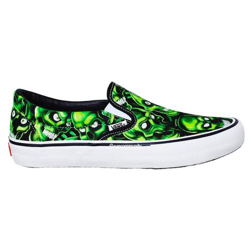 Supreme/Vans Skull Pile Slip-On