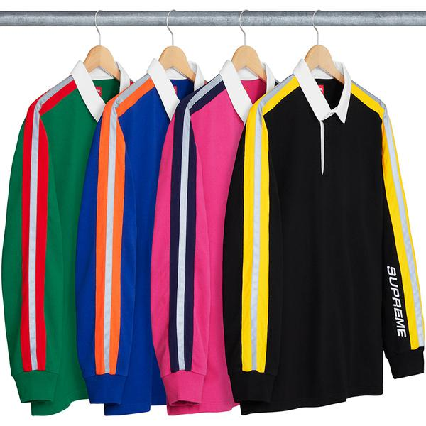 Reflective Sleeve Stripe Rugby