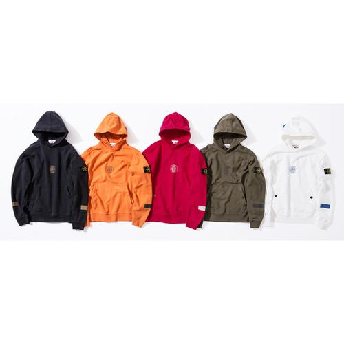 Supreme®/Stone Island® Hooded Sweatshirt
