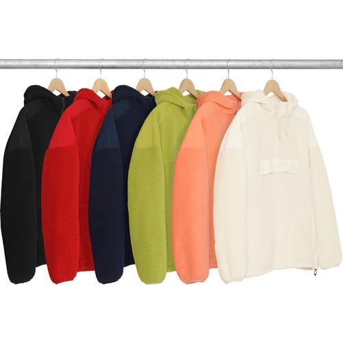 Polartec® Hooded Half Zip Pullover
