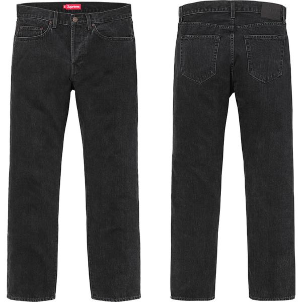 Stone Washed Black Slim Jeans