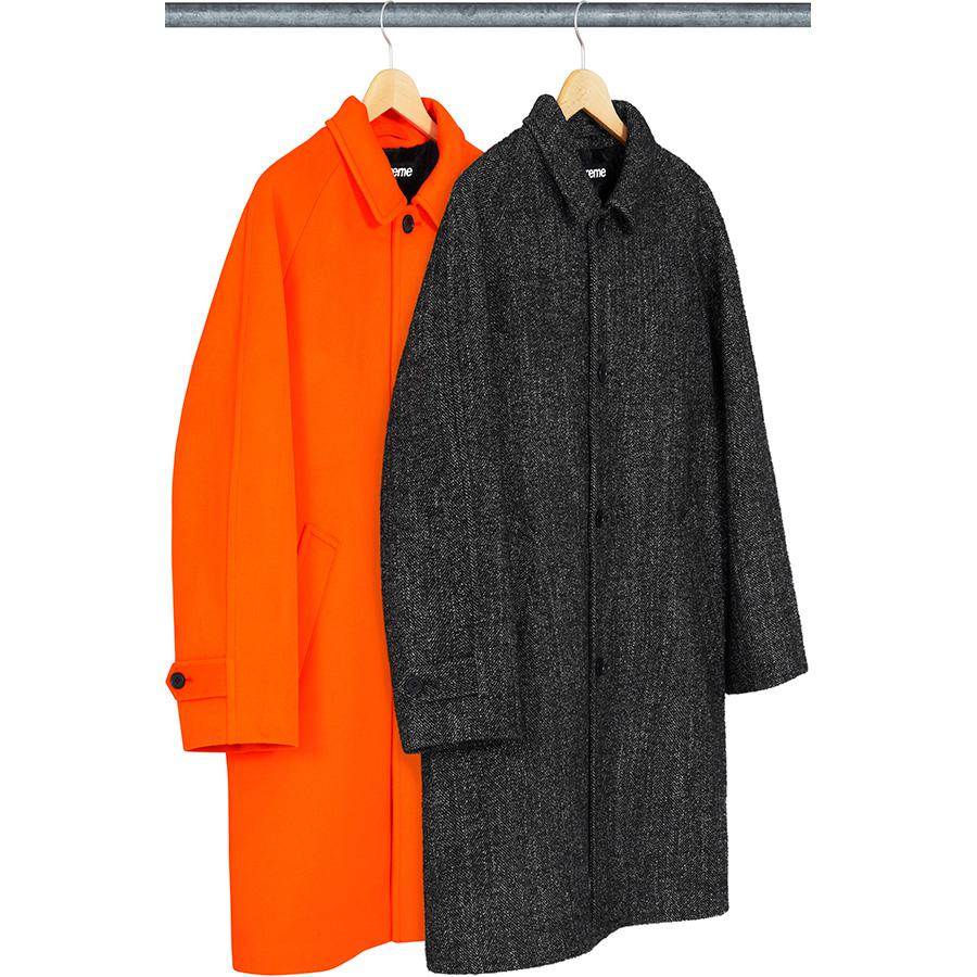 Supreme Wool Trench Coat