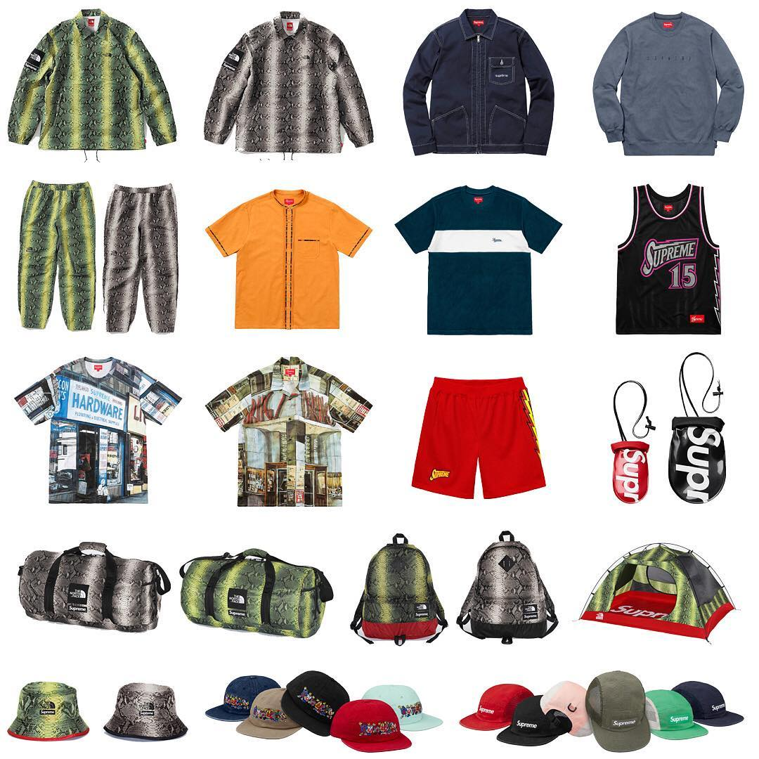 Supreme Week 16 The North Face