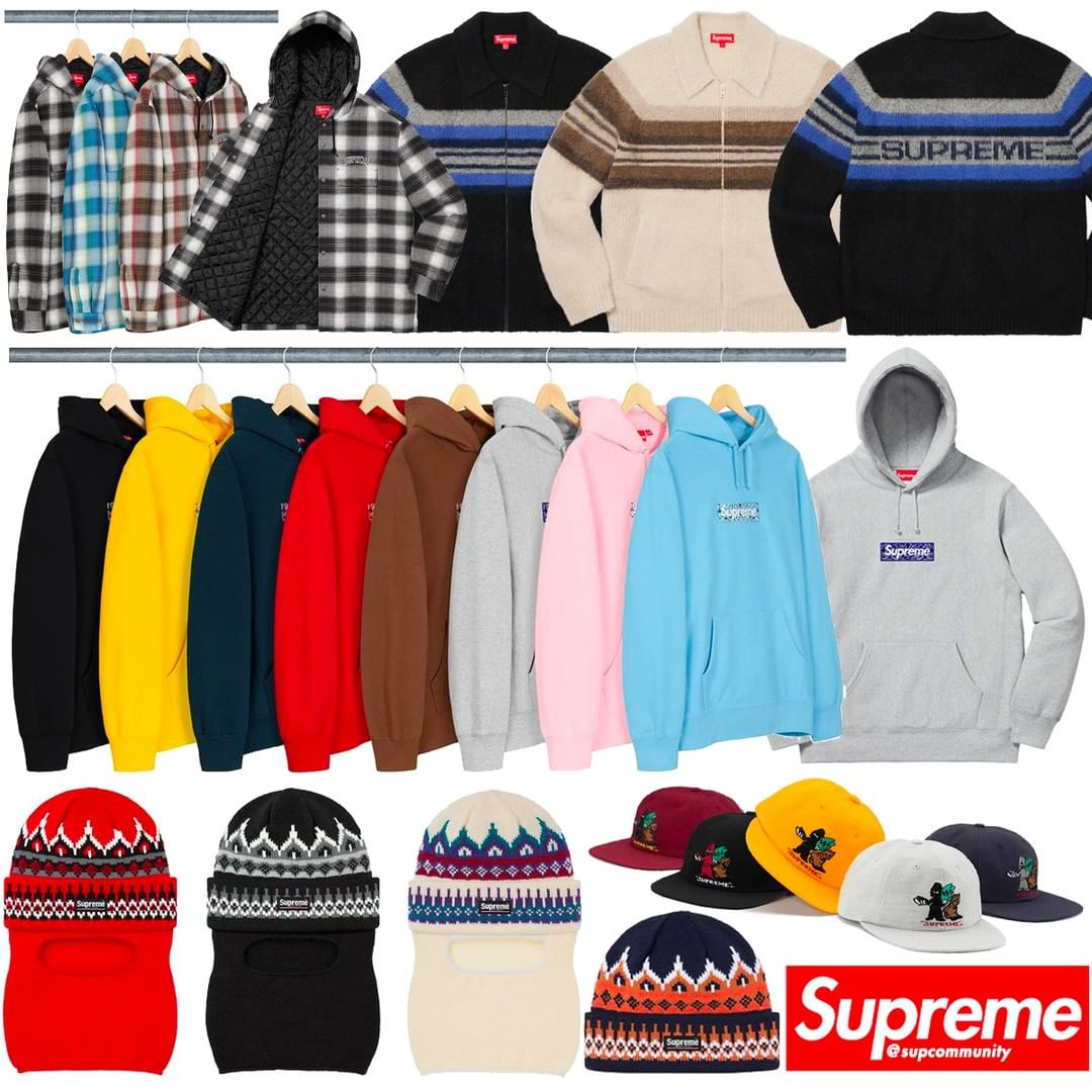 Supreme Week 16 Box Logo Keywords & Setup Guide