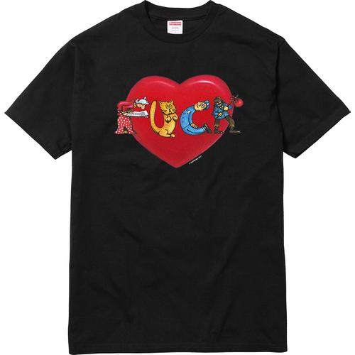 F*ck Love Tee Supreme Fall/Winter 2017