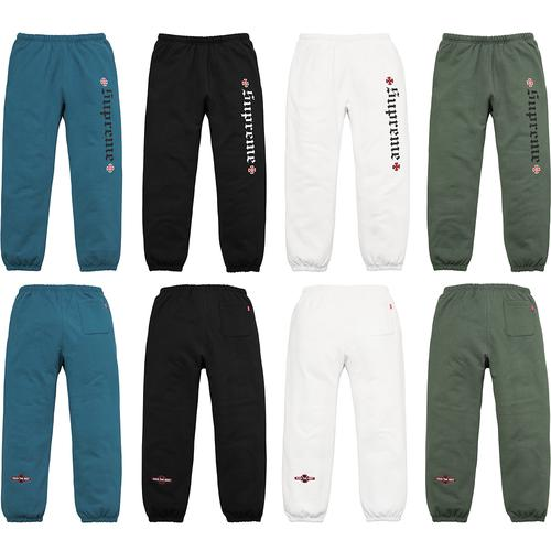 Supreme®/Independent® Fuck The Rest Sweatpant