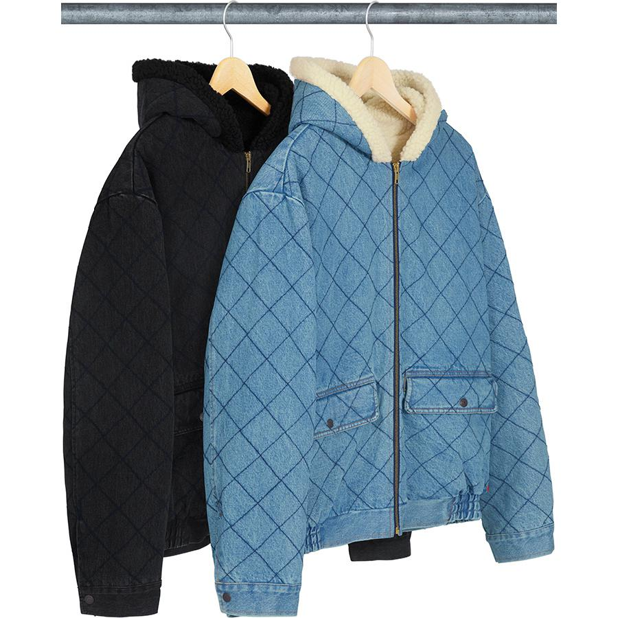 Supreme Quilted Denim Pilot Jacket