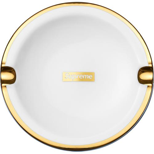 Gold Trim Ceramic Ashtray supreme fw17