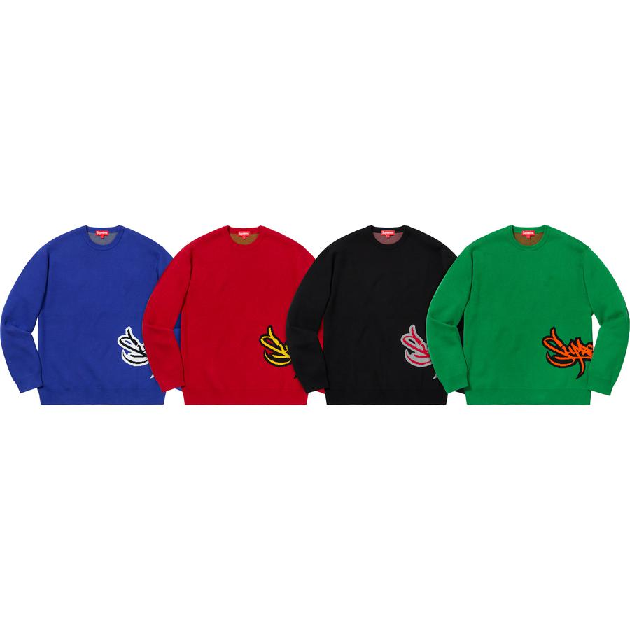 Supreme Tag Logo Sweater