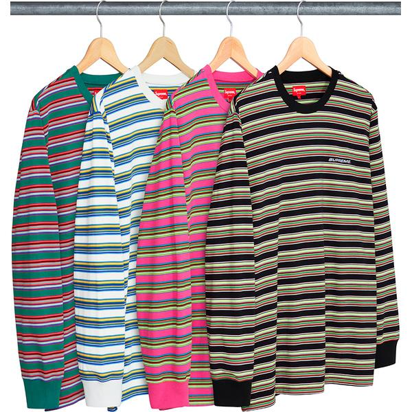 Multi Stripe L/S Top