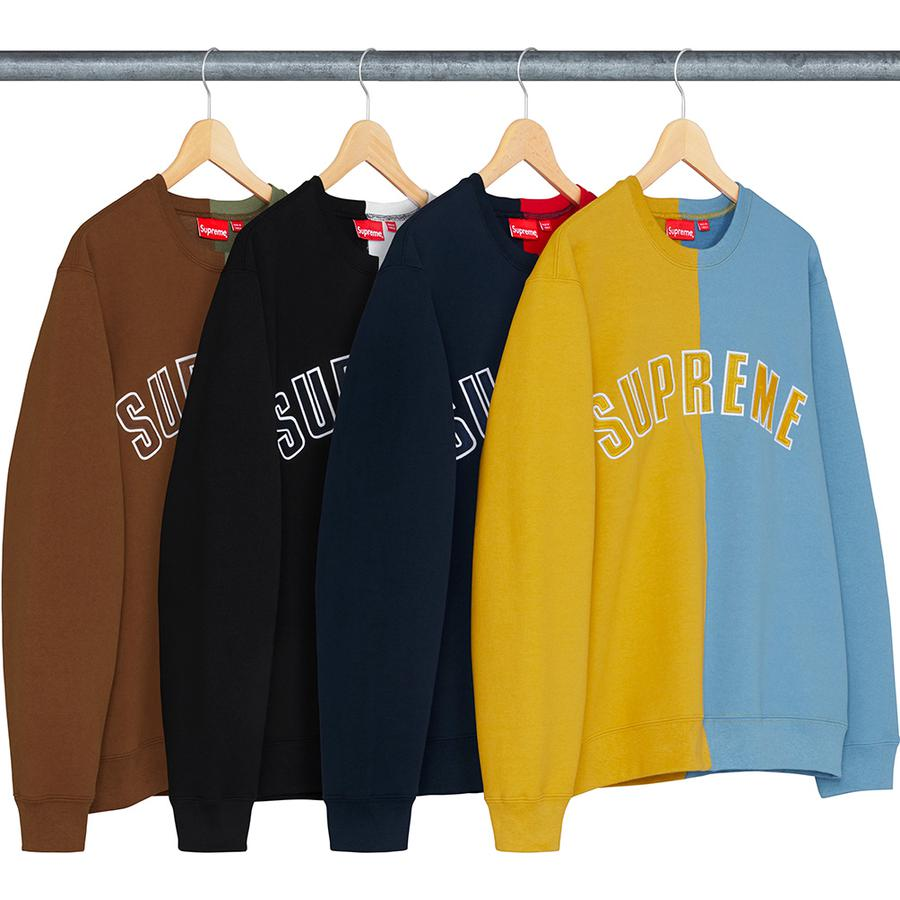 Supreme Split Crewneck Sweatshirt