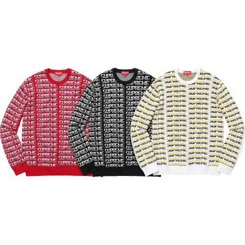 Repeat Sweater Supreme Fall/Winter 2017