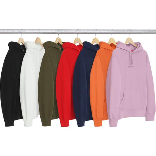 Compact Logo Hooded Sweatshirt