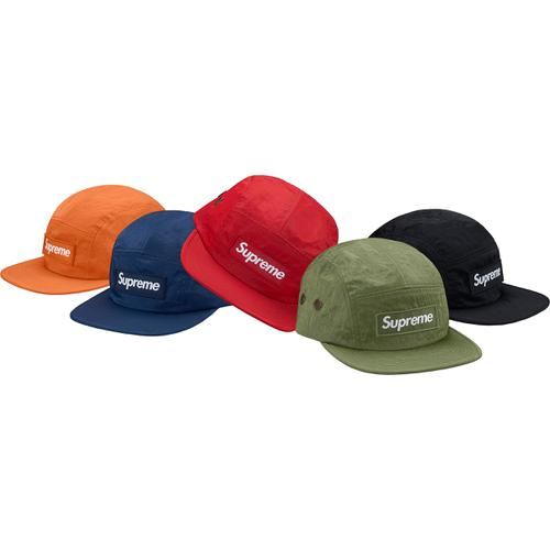 Washed Nylon Camp Cap