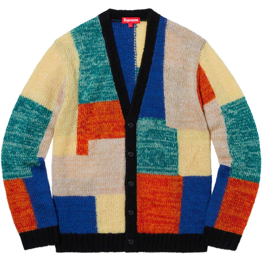 Supreme Patchwork Mohair Cardigan