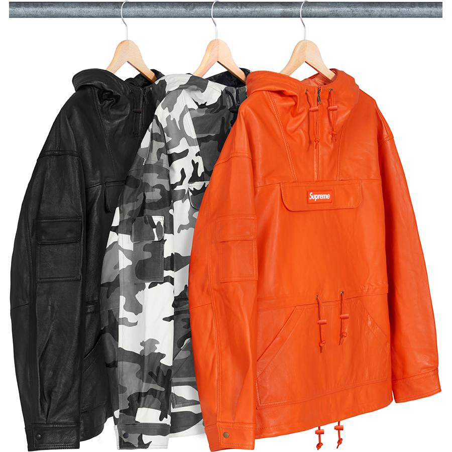 Supreme Leather Anorak