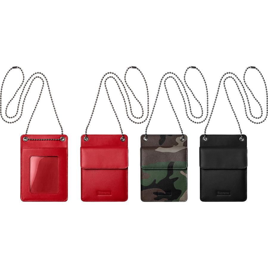 Supreme Leather ID Holder + Wallet