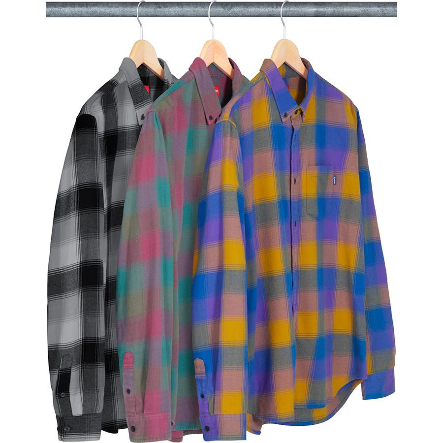 Supreme Shadow Plaid Flannel Shirt