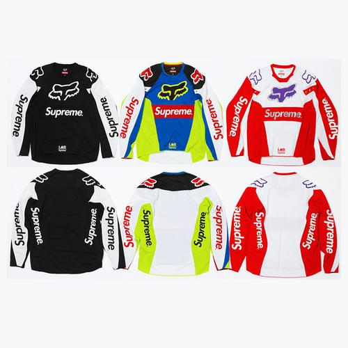 Supreme/Fox Racing Moto Jersey Top