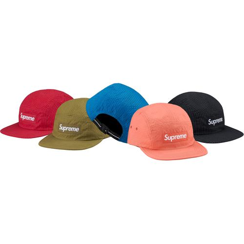 Overdyed Ripstop Camp Cap Supreme fw17