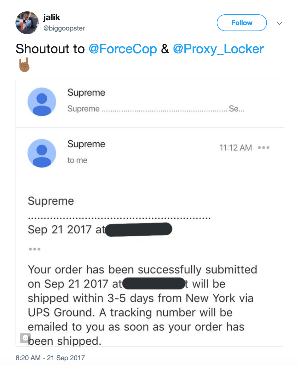 forcecop supreme bot review