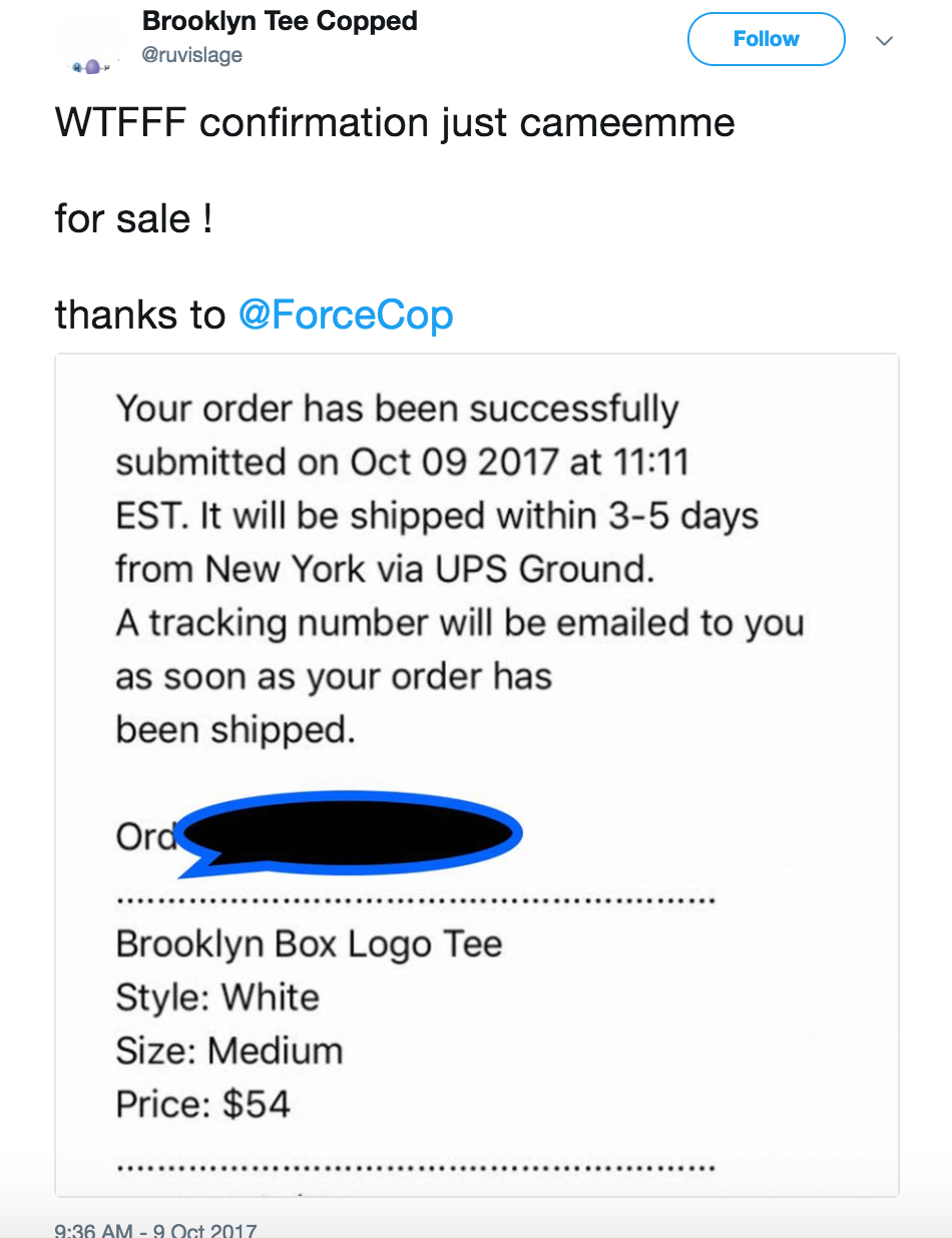 forcecop supreme bot review / testimonials
