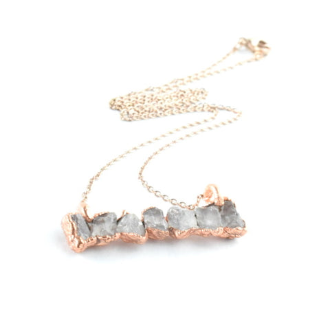 Quartz Bar Necklace