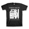 "STREET SECTS ""Death And Displacement"" Black T-Shirt"