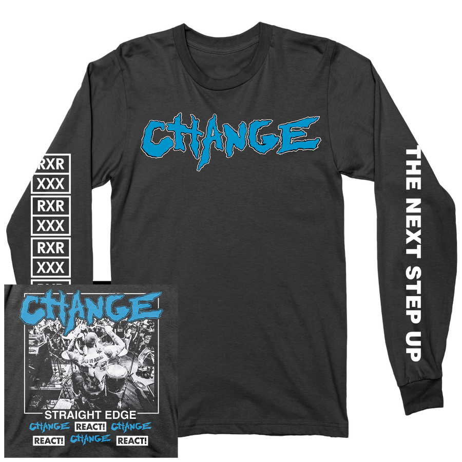 "CHANGE ""The Next Step Up"" Black Longsleeve"