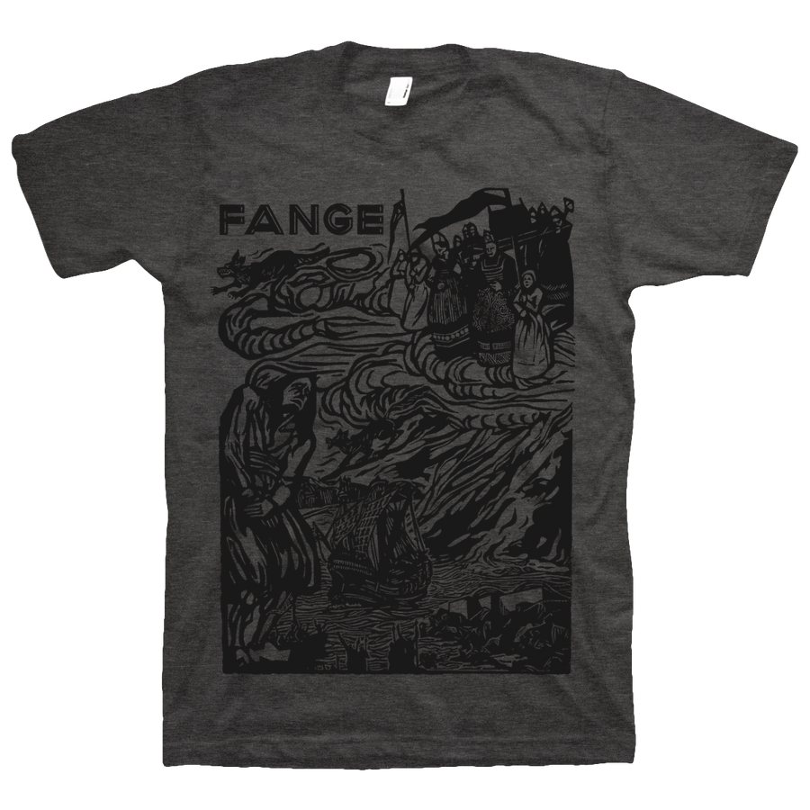 "FANGE ""Conquéreur"" Dark Heather T-Shirt"