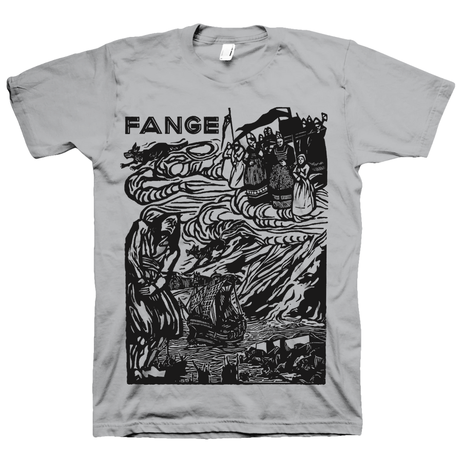 "FANGE ""Conquéreur"" Ice Grey T-Shirt"
