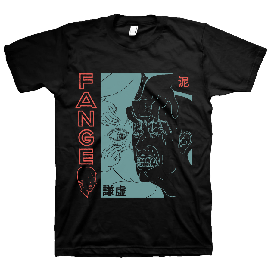 "FANGE ""Eyelids"" Black T-Shirt"