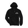 "GOST ""Skull"" Black Zip-Up Hoodie"