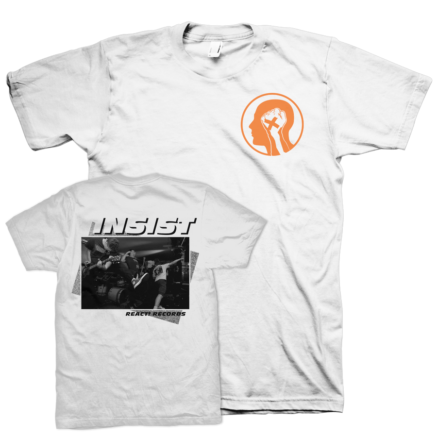 "INSIST ""Here And Now"" White T-Shirt"