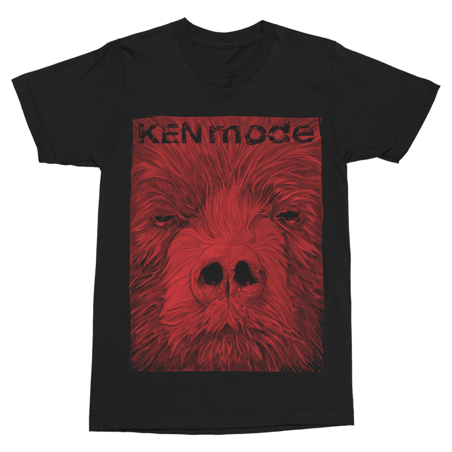"KEN MODE ""Bear"" Black T-Shirt"