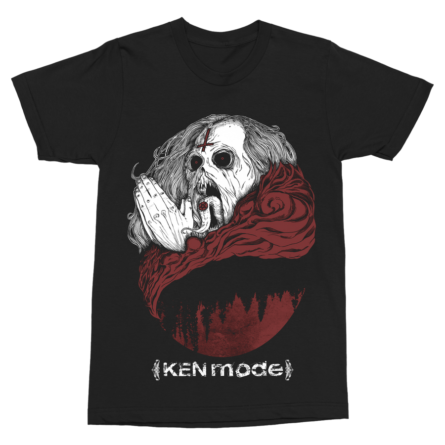 "KEN MODE ""Demon Prayer"" Black T-Shirt"