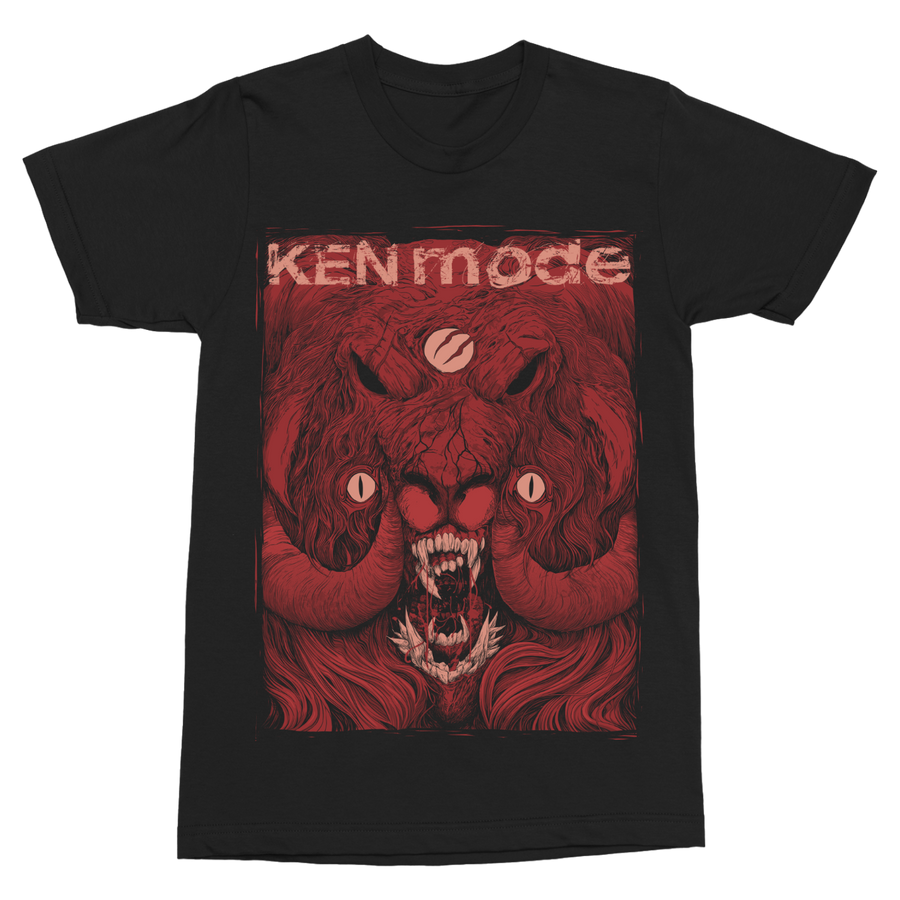 "KEN MODE ""Red Ram"" Black T-Shirt"