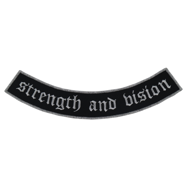 "NEUROSIS ""Strength And Vision"" Embroidered Patch"