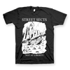 "STREET SECTS ""Not At Liberty"" Black T-Shirt"