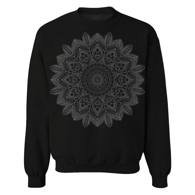 "THOMAS HOOPER ""Emergence"" Black Crew Neck Sweatshirt"