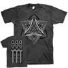 "THOMAS HOOPER ""Ashes And Diamonds"" Gray T-Shirt"