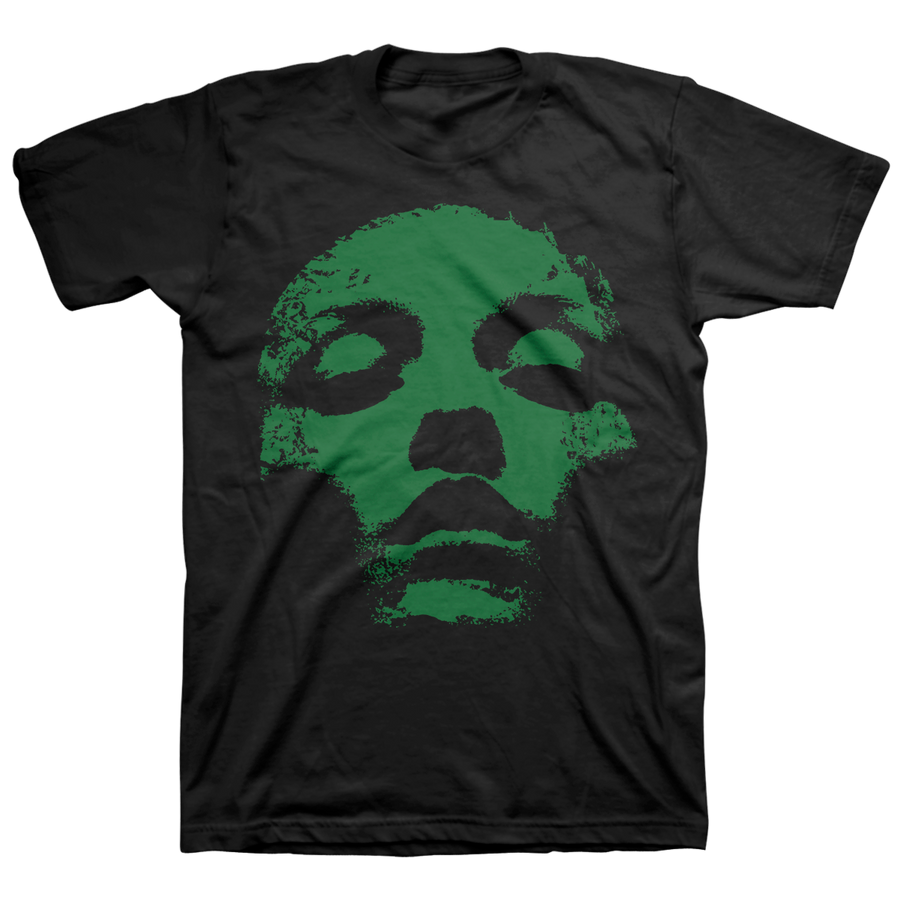 "CONVERGE ""Jane Doe Classic: Green"" Black T-Shirt"
