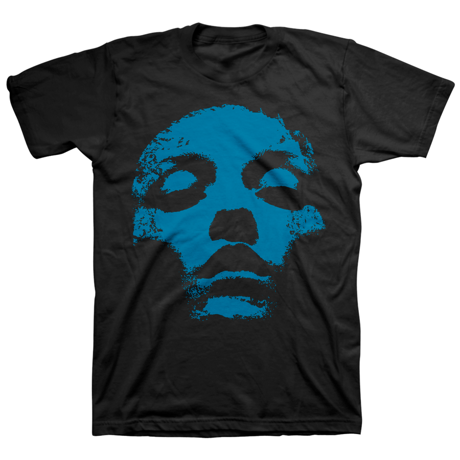 "CONVERGE ""Jane Doe Classic: Blue"" Black T-Shirt"
