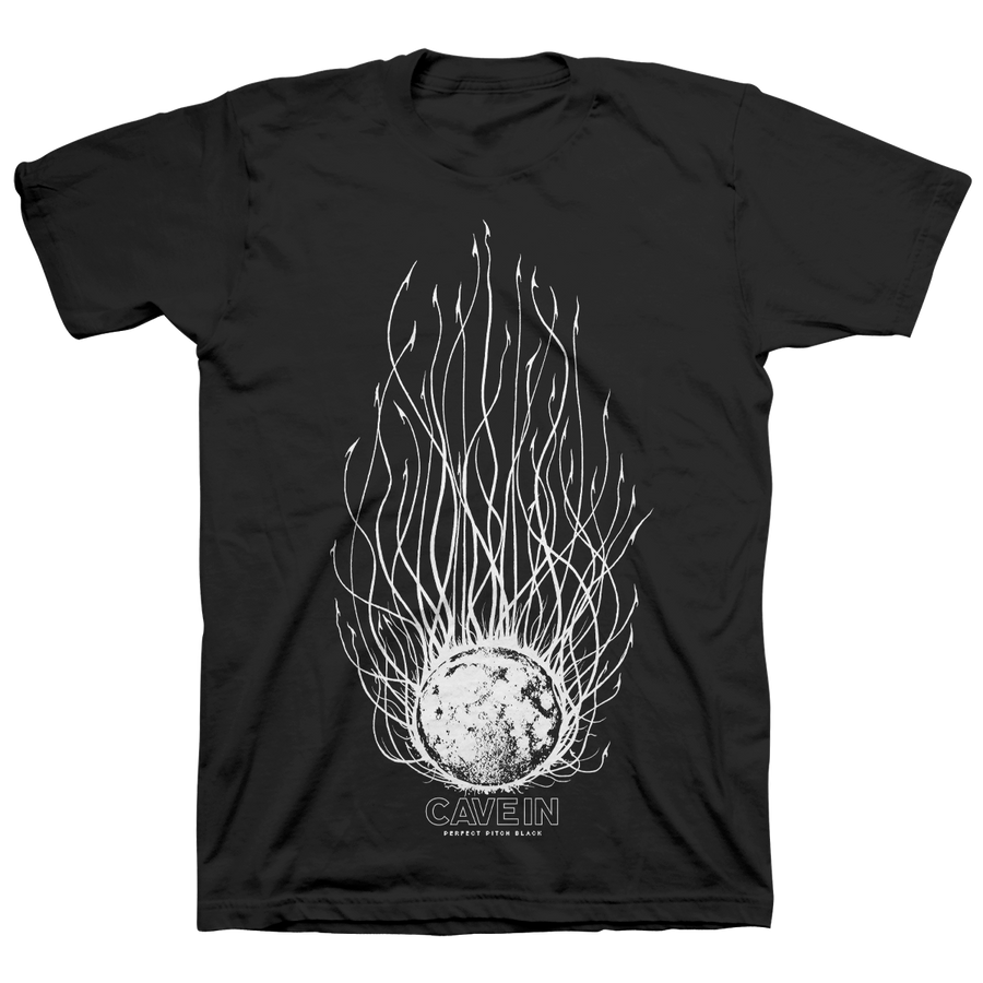"CAVE IN ""Perfect Pitch Black: Evil Moon"" Black T-Shirt"