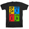 "CAVE IN ""Elements (Stacked) Simon"" Black T-Shirt"