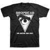 "DROPDEAD ""Question: Front"" Black T-Shirt"